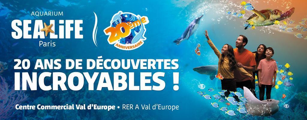 Découvrir les mondes sous marins à SEA LIFE Paris !